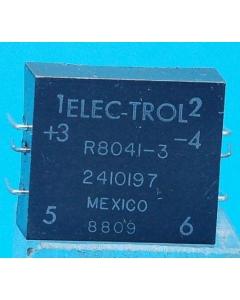ELECTROL - R8041-3 - 24VDC DPST 1 N.O. 1 N.C. Reed Relays