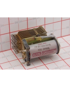 GTE Automatic Electric - PP-70330-30AA - 24/48VDC 12PST-1Amp Telephone Relay Open Frame
