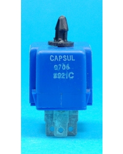 Unidentified MFG - CAPSULE 0706 - Electroluminescent panel driver inverter. Input: 7.5VDC. Output: 110VAC.