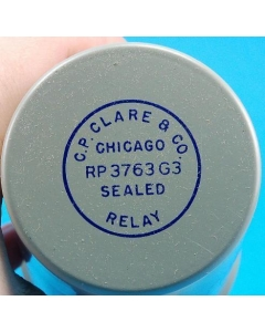C.P. Clare&Co - RP3763G3 - 28VDC Sealed TDR 0.16-Second Release Delay