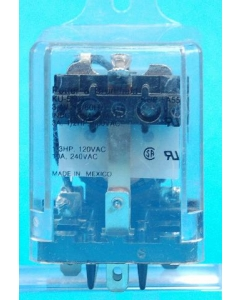 Potter & Brumfield - KUP5A55-3.4VAC - Relay, AC. SPDT 10Amp 3.4VAC.