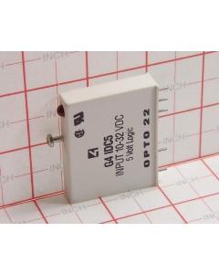 OPTO 22 - G4IDC5 - Relay, I/O. SSR. 10-32VDC 5VDC logic.