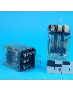 TE Connectivity / Potter & Brumfield - KUP14D55-24 - General Purpose 24VDC 3PDT-10A Plastic Enclosed