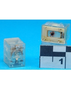 MAGNECRAFT/S&D - 229XAXC-12VDC - Relay, control. SPDT 5A 12VDC.