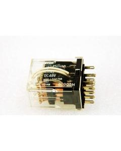 Panasonic Matsushita - HC4-DC48V,  HC4DC48V - Relay, DC. 4PDT 5Amp 48VDC.