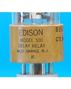 EDISON - B1624 Model 501 3380-705224-2715 - TDR, time delay 30 seconds 5VAC/DC, SPDT-3A.