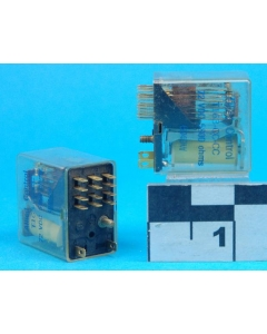 Allied Controls - T163-CC-CC - Relay, plate. 4PDT 5Amp 72VDC.