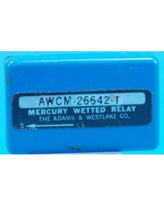 ADAMS AND WESTLAKE - AWCM-26642T - DPDT 12-63VDC Mercury-wetted Dual Coils