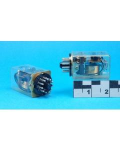 Potter & Brumfield - KA4318 - 110VDC 3PDT-5AMP 11-pin round plug-in