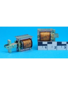 Unidentified MFG - E120-87 - Linear Solenoid, DC. Coil: 115VAC 0.24A 475 Ohms.