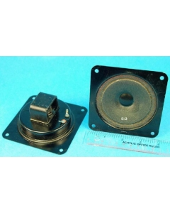 "Denmark - SPK-051 - Speakers. 8 Ohm. Size: 3-11/16"" square."
