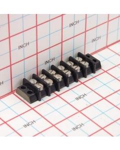 Molex Beau Vernitron - 1941529A6  - 14006 - Terminal strip / block. 6 position, 2 x 6 screw.