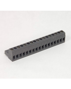 WECO - TS09-02 - Terminal block. 17 pos, only 9 contacts.