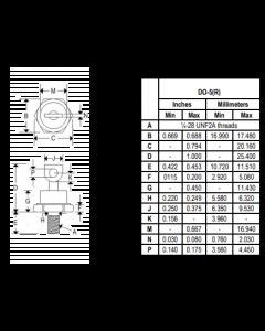 Motorola - 1N1183R - Diode. 40Amp 50V.