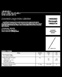 Motorola - 1N5311 - Diode. 2.5V 0.6 Watt 3.6ma.
