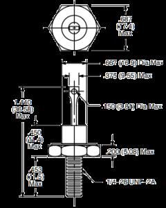 Motorola - 50M28SZ3 - Diode, Zener. 28V 50W.