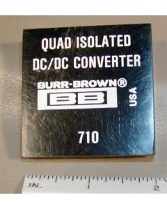 Burr Brown - 710 - IC, DC/DC Converter. Quad-isolation.