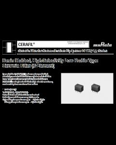 Murata Erie - CFW455F - Filter, Ladder. 455KHz. Multi-Element.